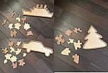 Пазлы деревянные  Набор из 5-ти пазлов, фото 3