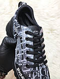 Женские кроссовки Dior D-Connect Kaleidoscopic Black, женские кроссовки диор д коннект (37 размер в наличии), фото 5