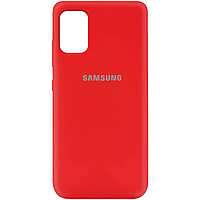 Силиконовый чехол Silicone Cover на телефон Samsung Galaxy A71 / Самсунг А71