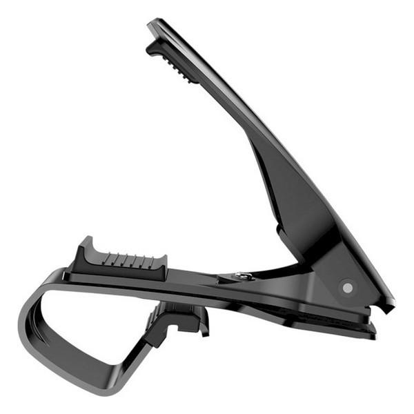 Автомобильный держатель для смартфонов и навигаторов Baseus Mouth Car Mount Black (SUDZ-01)