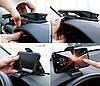 Автомобильный держатель для смартфонов и навигаторов Baseus Mouth Car Mount Black (SUDZ-01), фото 4