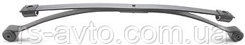 Рессора задняя Ford Connect 02- (к-кт 2-x листовая) (60x662x593) (1/13+1/10.5), фото 3