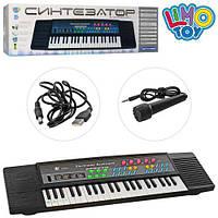 Синтезатор MS-3738 44клавіші, мікрофон, запис, демо, USB, від мережі, кор., 63-18-6см., шт