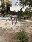 Игровой комплекс для улицы с качелями и горкой, фото 3