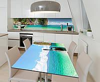Наклейка 3Д виниловая на стол Zatarga «Манящий Тайланд» 600х1200 мм для домов, квартир, столов, кофейн, кафе, фото 1