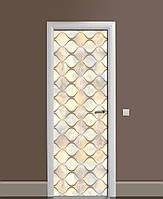 Наклейка на дверь Zatarga «Стеклянные колбы» 650х2000 мм виниловая 3Д наклейка декор самоклеящаяся