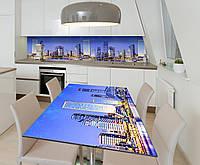 Наклейка 3Д виниловая на стол Zatarga «Вечер в Сиднее» 650х1200 мм для домов, квартир, столов, кофейн, кафе, фото 1