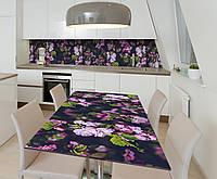 Наклейка 3Д виниловая на стол Zatarga «Тайны китайской вишни» 600х1200 мм для домов, квартир, столов, кофейн,, фото 1