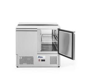 Стол холодильный саладетта-2-дверный с откидной крышкой Hendi 232804