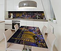 Наклейка 3Д виниловая на стол Zatarga «Шальной Вегас» 650х1200 мм для домов, квартир, столов, кофейн, кафе, фото 1