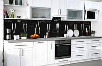 Скинали на кухню Zatarga «Сомелье» 600х2500 мм виниловая 3Д наклейка кухонный фартук самоклеящаяся, фото 1