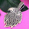 Серебряный оберег Орел - Мужской серебряный кулон Орел - Мужская подвеска из серебра орел, фото 3