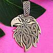 Серебряный оберег Орел - Мужской серебряный кулон Орел - Мужская подвеска из серебра орел, фото 2