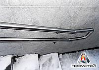 Двойной металлический поручень пристенный или на стойках из нержавеющей стали - монтаж, доставка и установка