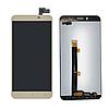 Дисплей (екран) для Asus ZenFone 3 Max 5.5 дюймів (ZC553KL) + тачскрін, золотистий