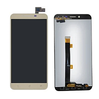 Дисплей (экран) для Asus ZenFone 3 Max 5.5 дюймов (ZC553KL) + тачскрин, золотистый