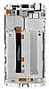Дисплей (екран) для Asus ZenFone 3 Max 5.5 дюймів (ZC553KL)+ тачскрін білий Glacier Silver з передньою панеллю