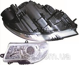Фара левая электро Н3+Н7 (с надписью SUPERB) для Skoda Superb 2009-13