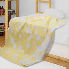 Детское одеяло в кроватку из хлопка Звезды ТМ Ярослав, 100х140 см
