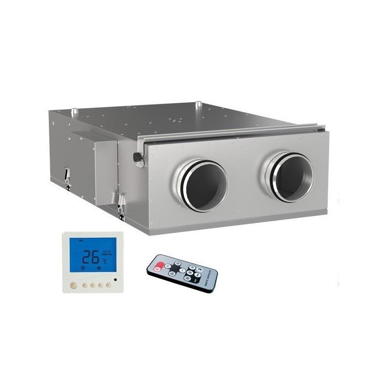 Компактна припливно-витяжна установка Вентс ВУЭ2 150 П ЄС Комфо