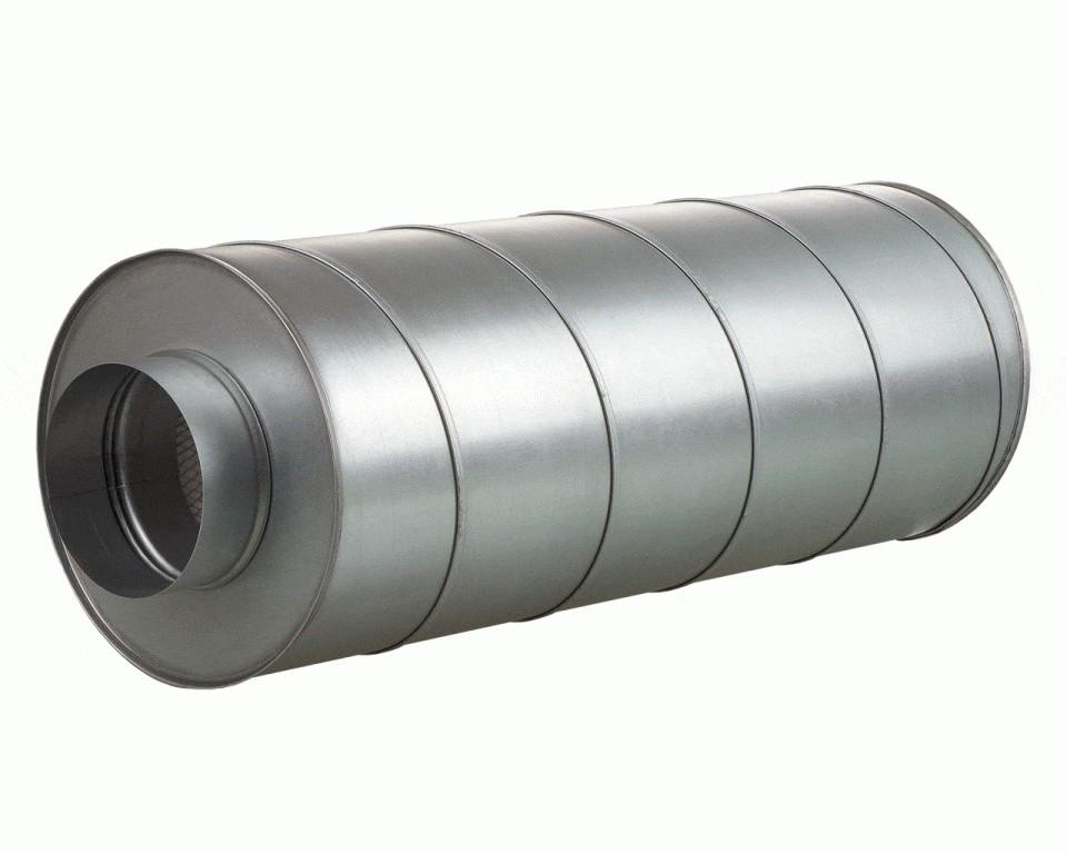 Шумоглушитель круглый Вентс СР 200/600