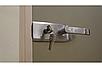 Универсальная стеклянная дверь липа Tesli Aqua Bronze Sateen 2015х680 мм бронзовая межкомнатная, фото 3
