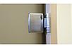 Универсальная стеклянная дверь липа Tesli Aqua Bronze Sateen 2015х680 мм бронзовая межкомнатная, фото 4