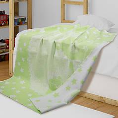Детское одеяло в кроватку из хлопка Ёжик ТМ Ярослав 100х140 см
