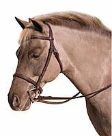 Уздечка для лошадей и пони, кожа, Франция