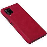 Защитный чехол-книжка Nillkin для Samsung Galaxy A42 5G Qin leather case Red, фото 3