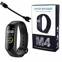 Фитнес Smart браслет черный с пульсометром М4