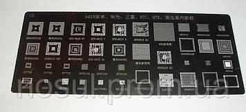 BGA А418 шаблоны HTC MTK 8800S3B 8800S4 MTK-6238 MTK-6513V MTK-6515A MTK6616SA QRF3001F H8BESOUUOMCR