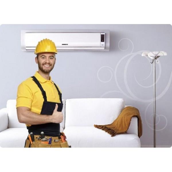 Установка настенных кондиционеров 7000-9000 BTU 2. 0-2. 9 кВт