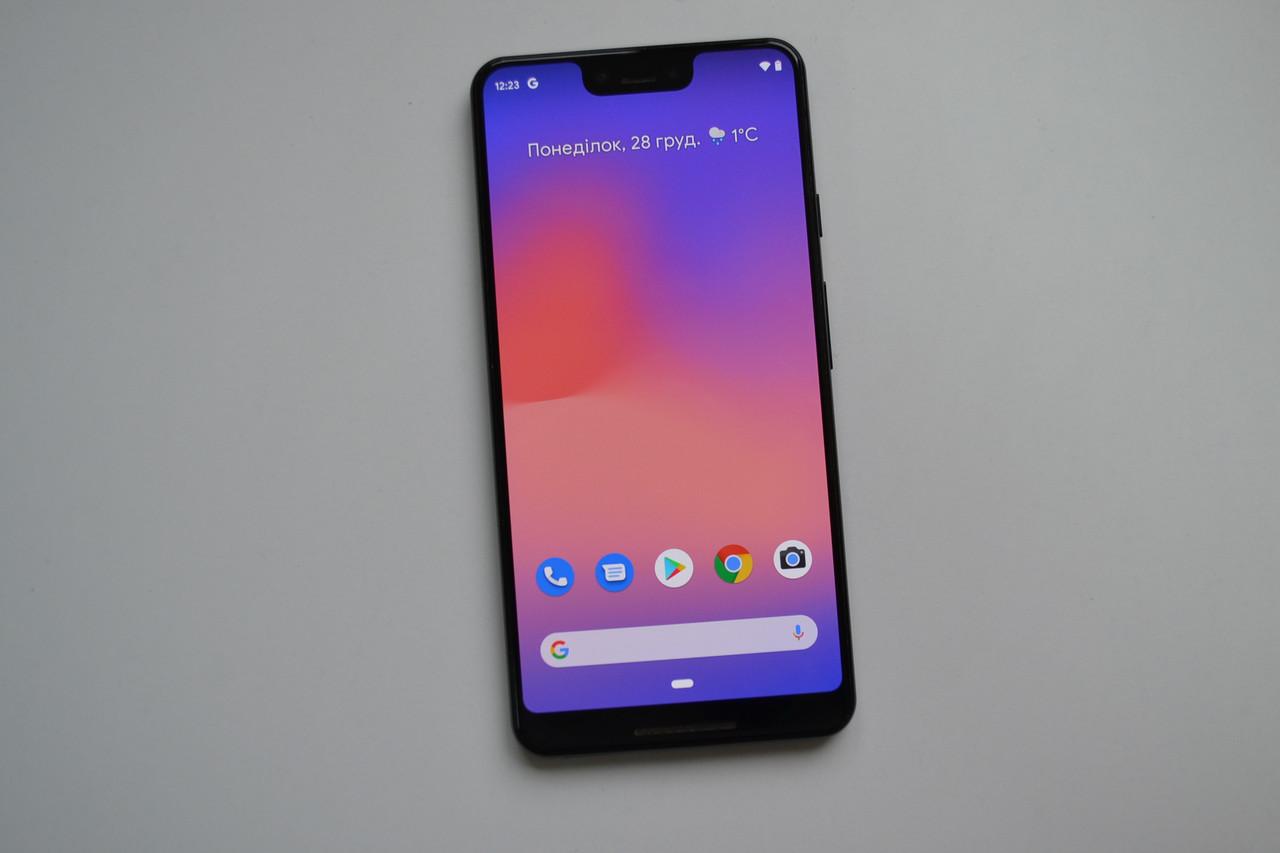 Смартфон Google Pixel 3 XL 64Gb Just Black Оригинал!