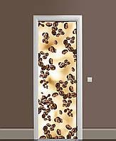 Наклейка на дверь Zatarga «Зёрна в невесомости» 650х2000 мм виниловая 3Д наклейка декор самоклеящаяся