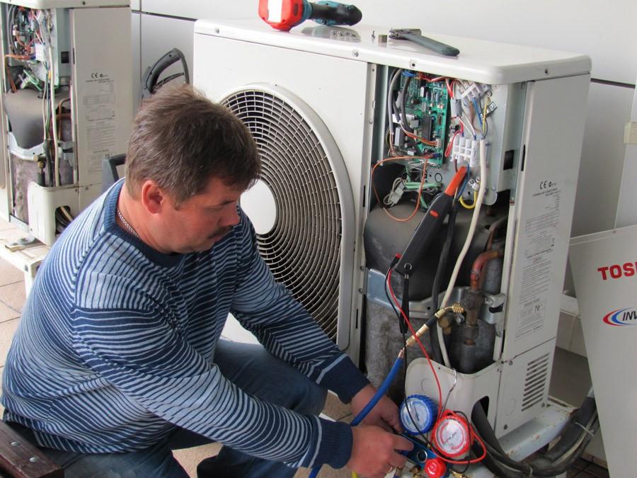 Устранение утечки хледагента в кондиционерах любого типа ремонт холодильно трассы без пайки,вакуумирования