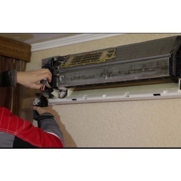 Замена крыльчатки вентилятора внутреннего блока