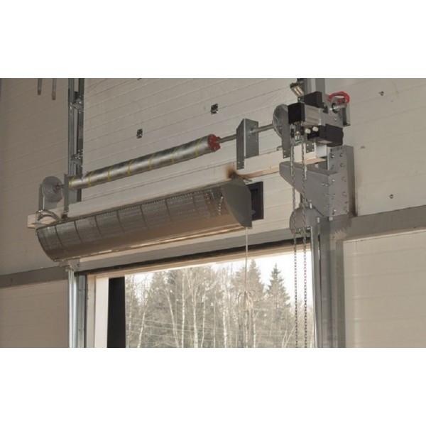 Замена электронагревателя тэна тепловой завесы