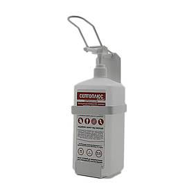 Ліктьовий дозатор c антисептиком Септоплюс-ультра 1л SK EDW1Y WS білий