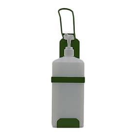 Ліктьовий дозатор c ємністю 1л SK EDW1К WB зелений RAL 6018