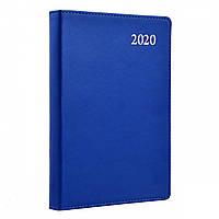 """Щоденник 2020 А5 """"Aldento"""" інтегр. Синій Leo planner"""