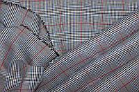 Ткань костюмная плательная клетка,   №226, фото 1