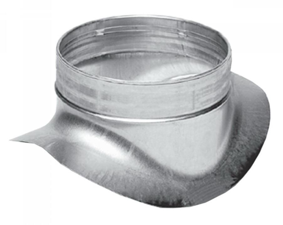 Врезка в круглый воздуховод 250/200
