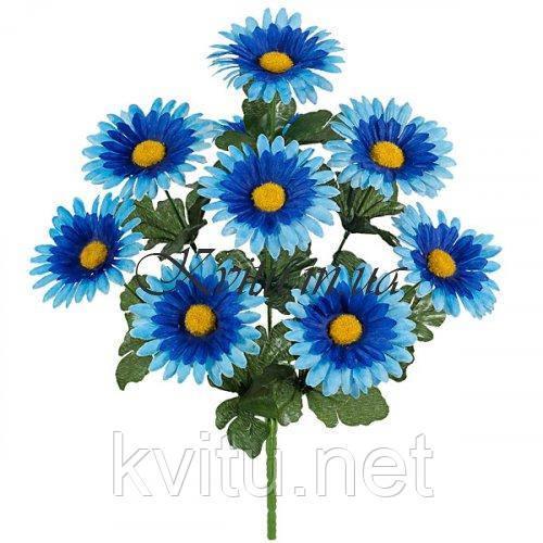 Искусственные цветы букет ромашек, 40см