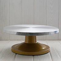 Подставка поворотная алюминевая (диаметр 30 см.), фото 1