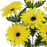Искусственные цветы букет герберы Коробочка, 44см, фото 2