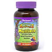 Мультивитамины для Детей, Вкус Фруктов, Rainforest Animalz, Bluebonnet Nutrition, 180 жев. таб.