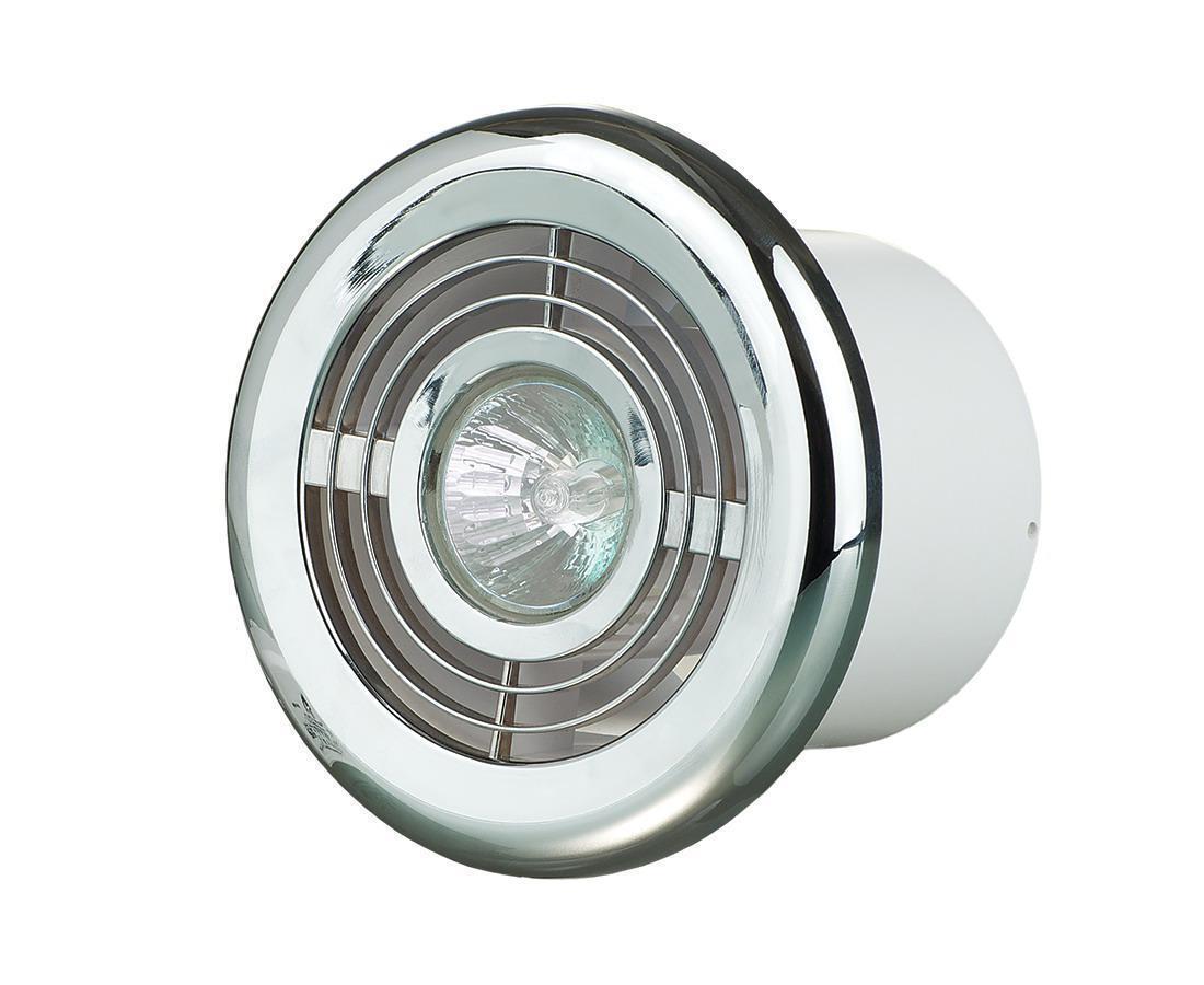 Потолочный диффузор с подсветкой Вентс ФЛ-100 хром