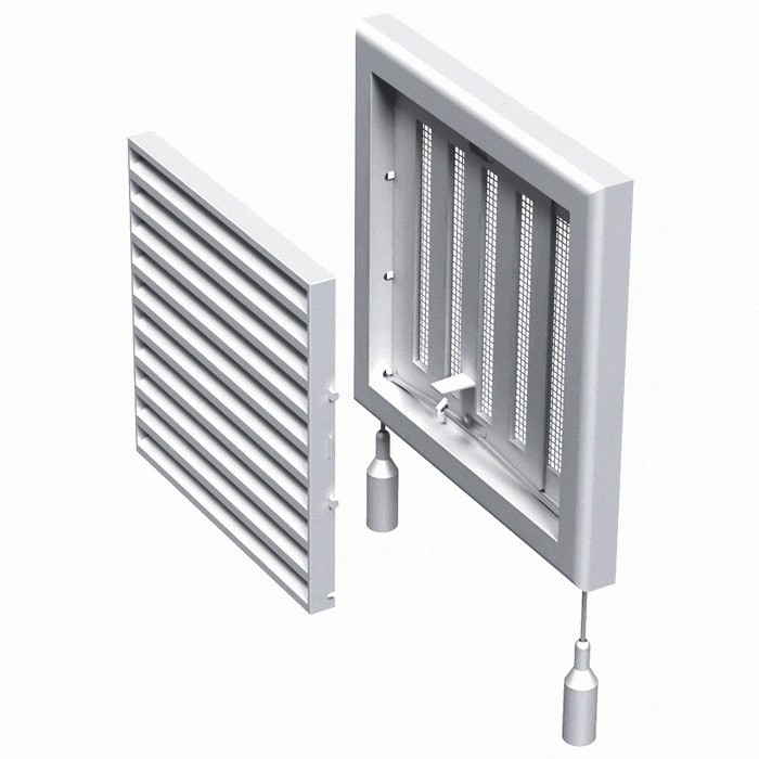 Вентиляционная решетка Вентс МВ 100 Рc