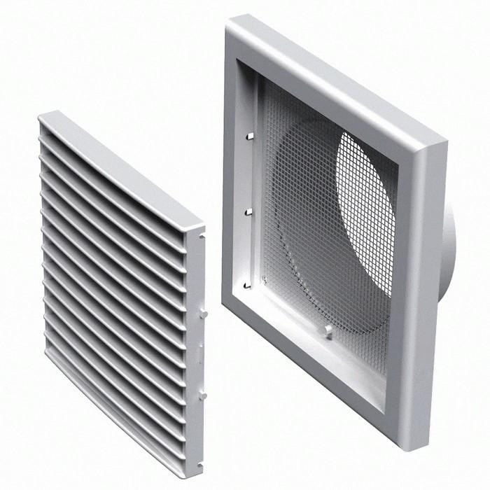 Вентиляционная решетка пластиковая МВ 101 Вс